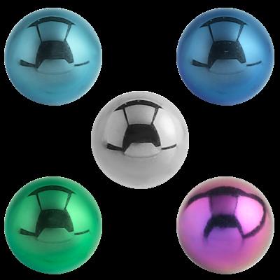 Titanium Threaded Ball Balls & Attachments