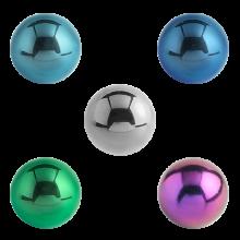 Titanium Threaded Micro Ball