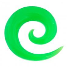 Resin Spiral Green