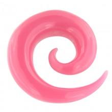 Resin Spiral Pink