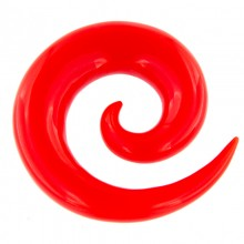 Resin Spiral Red