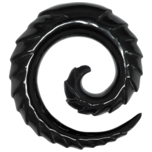 Carved Buffalo Spiral