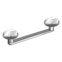 Titanium Flat Surface Bar Jewelled
