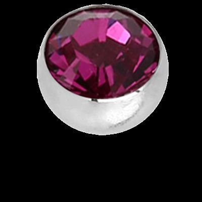 Micro Jewelled Balls with Swarovski Crystal (Big Stone) Balls & Attachments