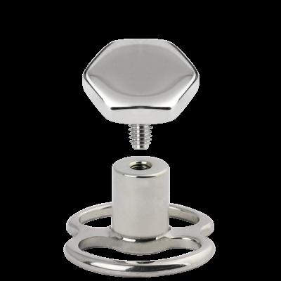 Transdermal Steel Accessory Balls & Attachments