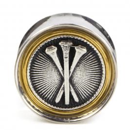 Piercing Plugs with silver part by EL Rana