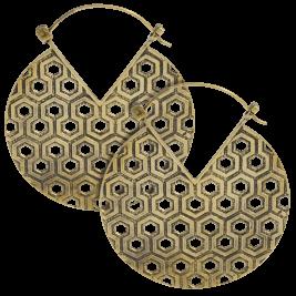 Brass Earrings Hoop